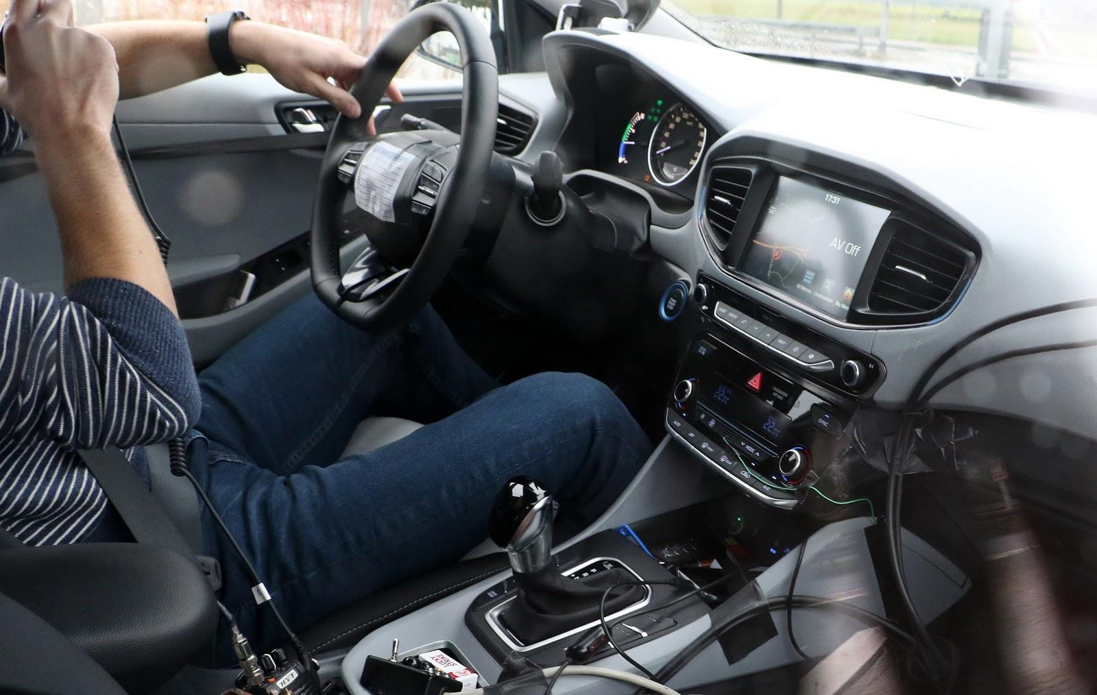 Photo of Hyundai'nin hibrit modelinden yeni poz