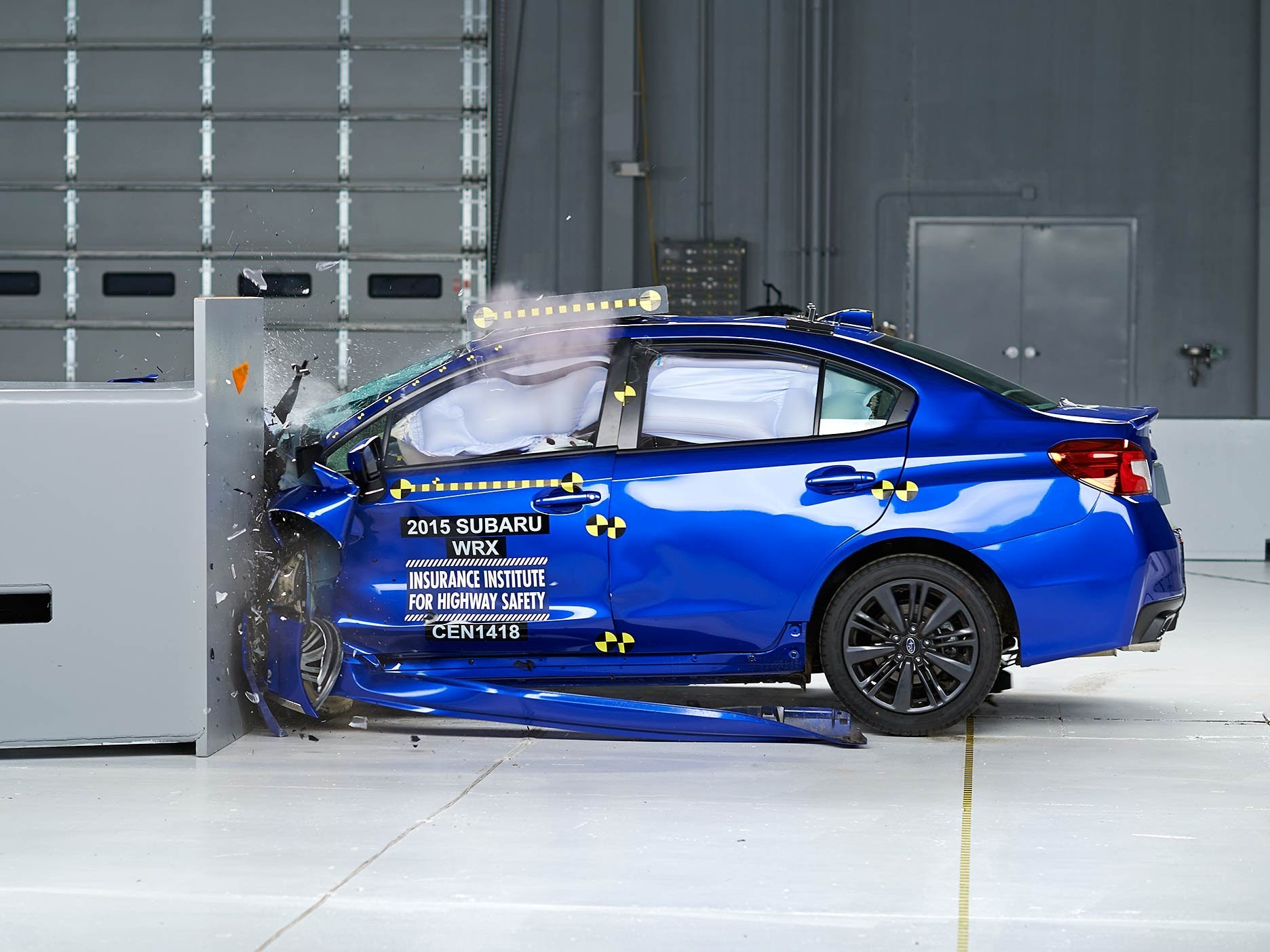 "Photo of Subaru'ya ""Top Safety Pick +"" madalyası"