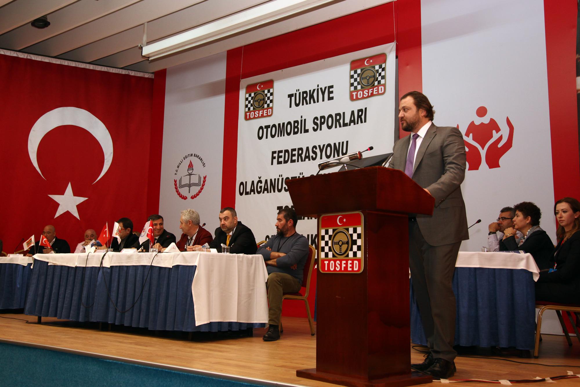 Photo of TOSFED'de yeni bir devir: Serkan YAZICI