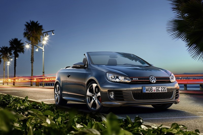 "Photo of Volkswagen'den ""hotcabrio"": Golf GTI Cabriolet"