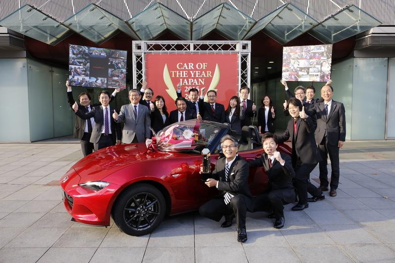 Photo of Japonya'da Yılın Arabası Mazda MX-5 seçildi
