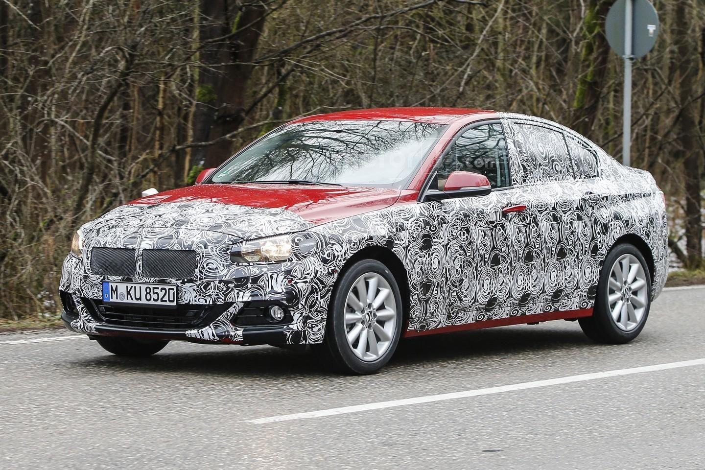 Photo of BMW 1 Serisi Sedan test ediliyor