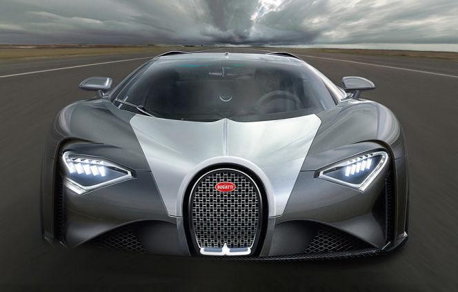 Photo of Bugatti, Chiron'u tekrar hatırlattı