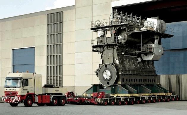 Photo of Dünyanın en güçlü dizel motoru: RTA96-C