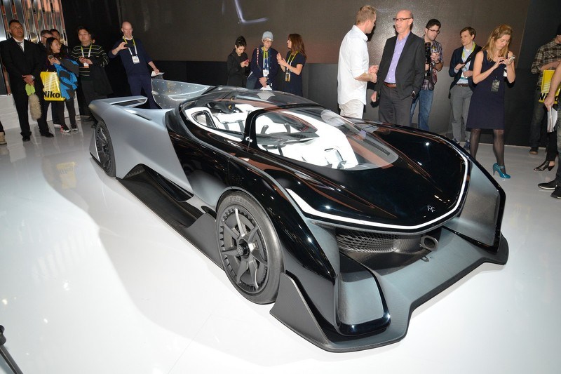 Photo of Faraday Future'dan Tesla'ya gözdağı: FFZERO1
