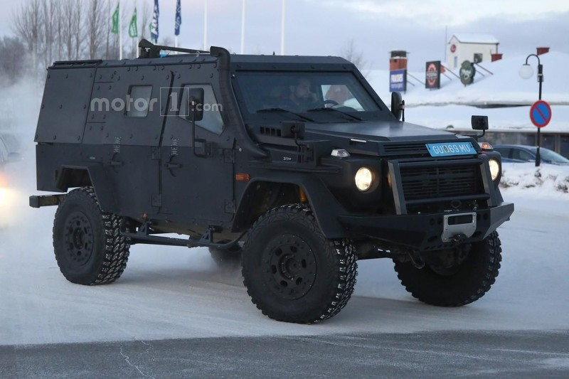 Photo of Mercedes'in devriye aracı: G Class LAPV