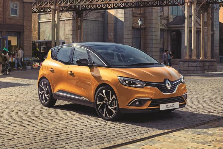 Photo of Renault Scenic yanlışlıkla sobelendi!