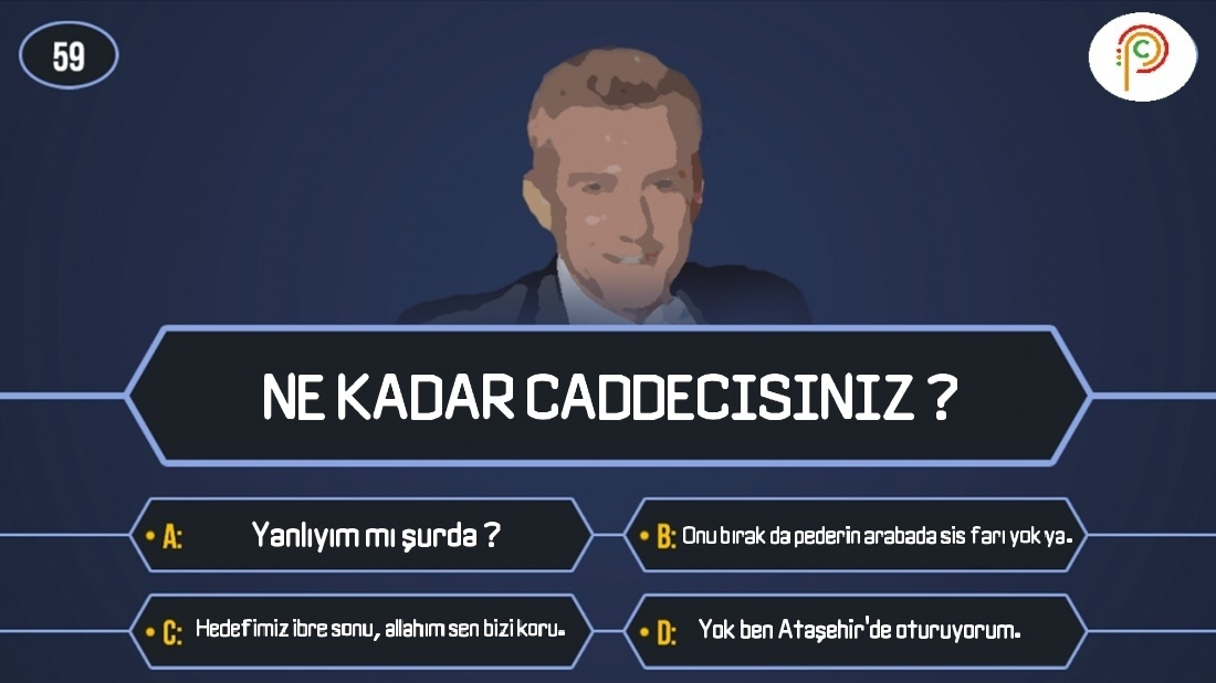 Photo of Quiz #2 -Ne Kadar Caddecisiniz ?
