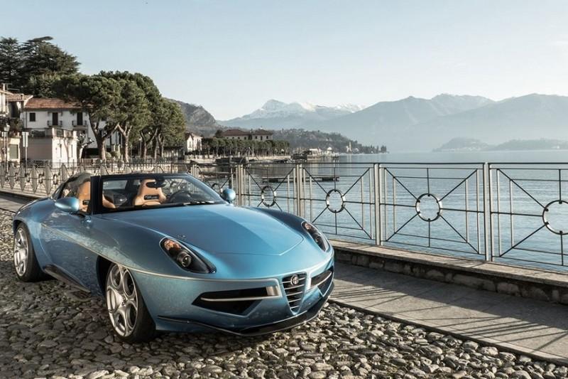 Photo of Cenevre'de üstsüz güzel: Alfa Romeo Volante