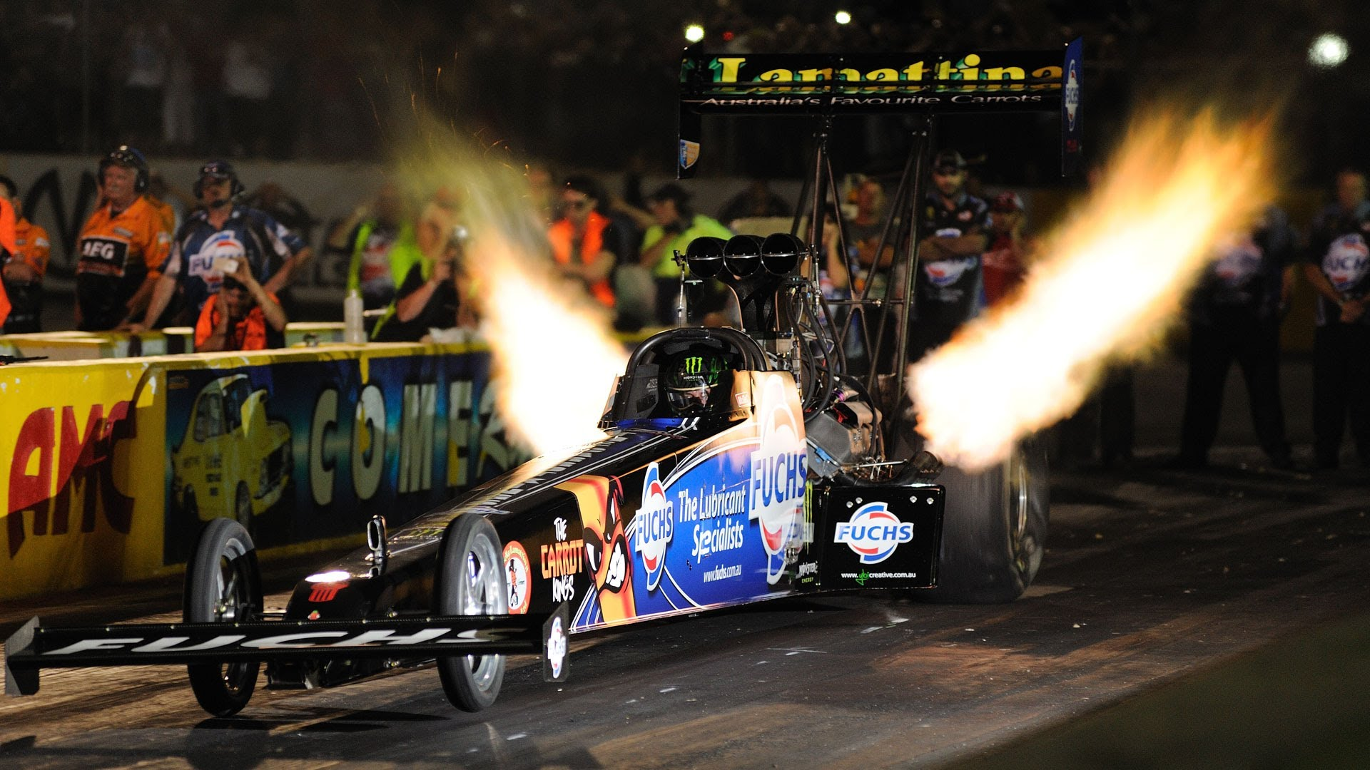 Photo of 10,000 beygir Top Fuel Dragster