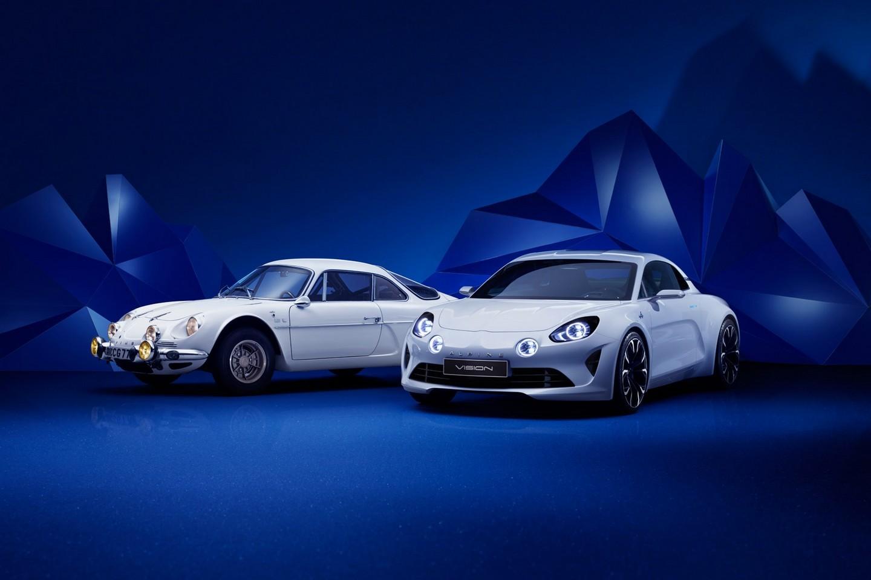 Photo of Renault Alpine Vision Concept örtüsünü indirdi