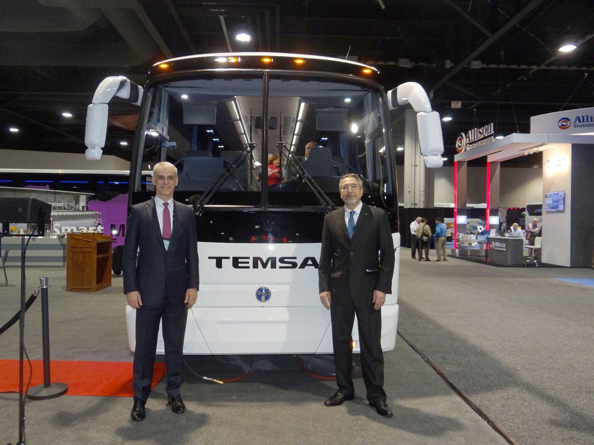 Photo of Temsa, Amerika'da pazar payını arttırmaya çalışıyor