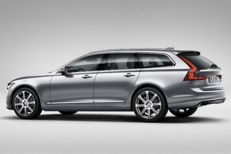 Photo of Volvo V90'ın resmi görselleri de sızdırıldı