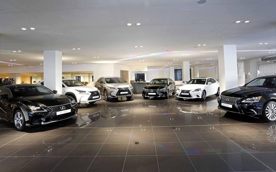 Photo of Lexus showroomu açıldı