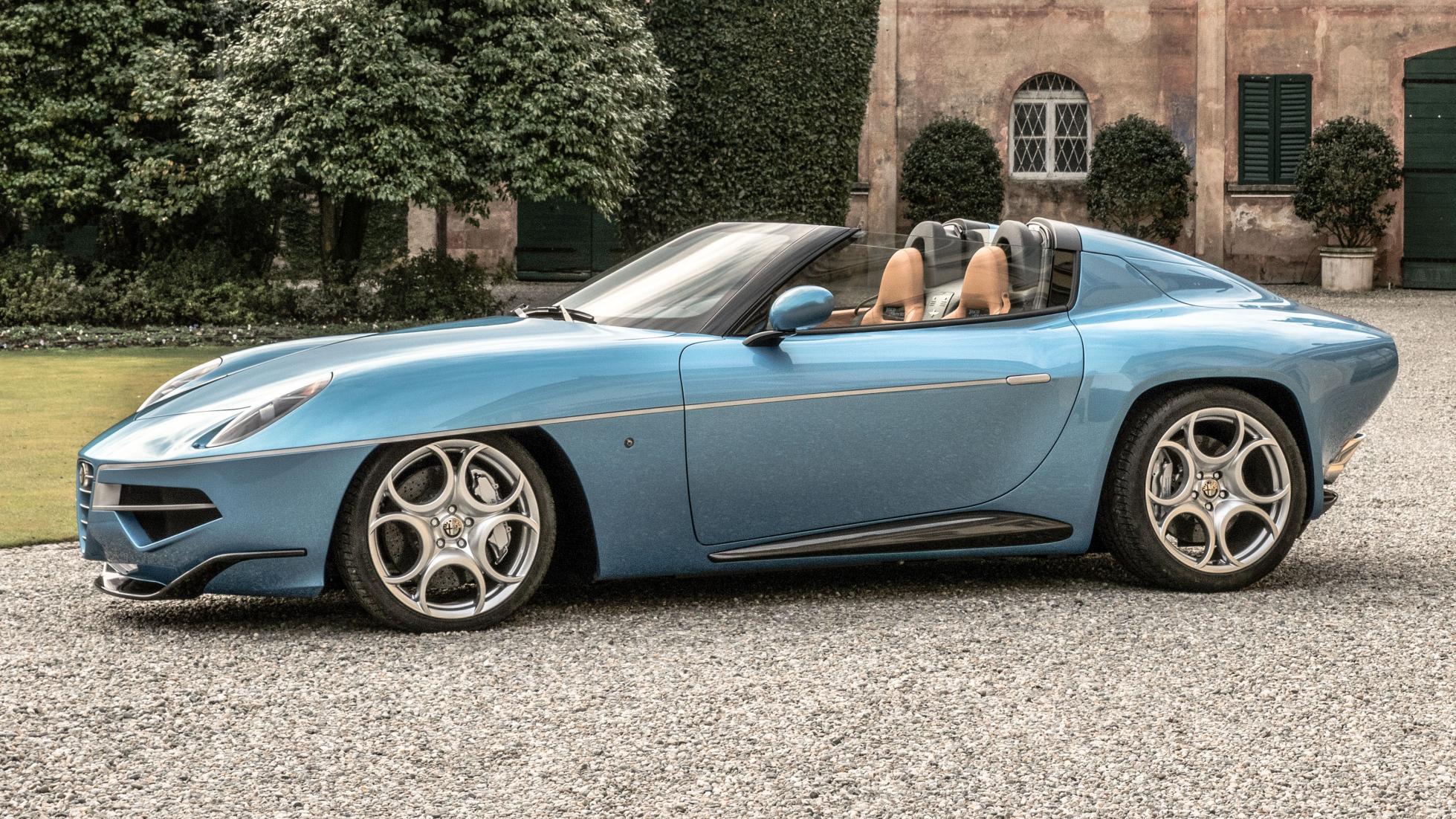 Alfa Romeo Disco Volante >> Alfa Romeo Disco Volande Spyder