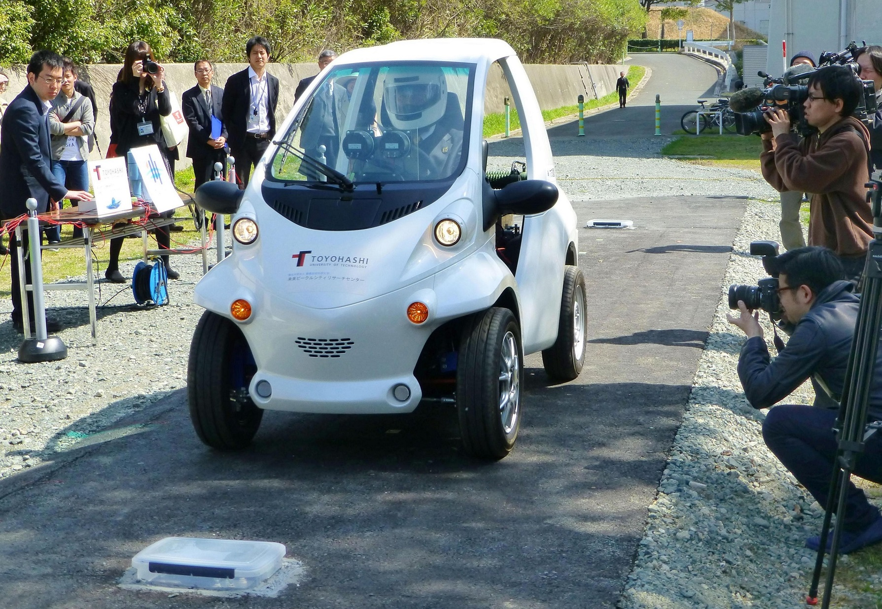 Photo of Bataryasız çalışan elektrikli araç