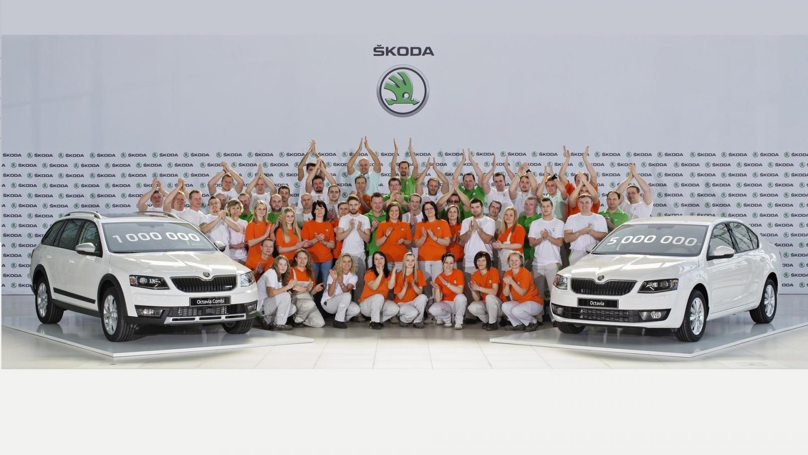 Photo of 3. nesil Skoda Octavia üretimi 1 milyona ulaştı