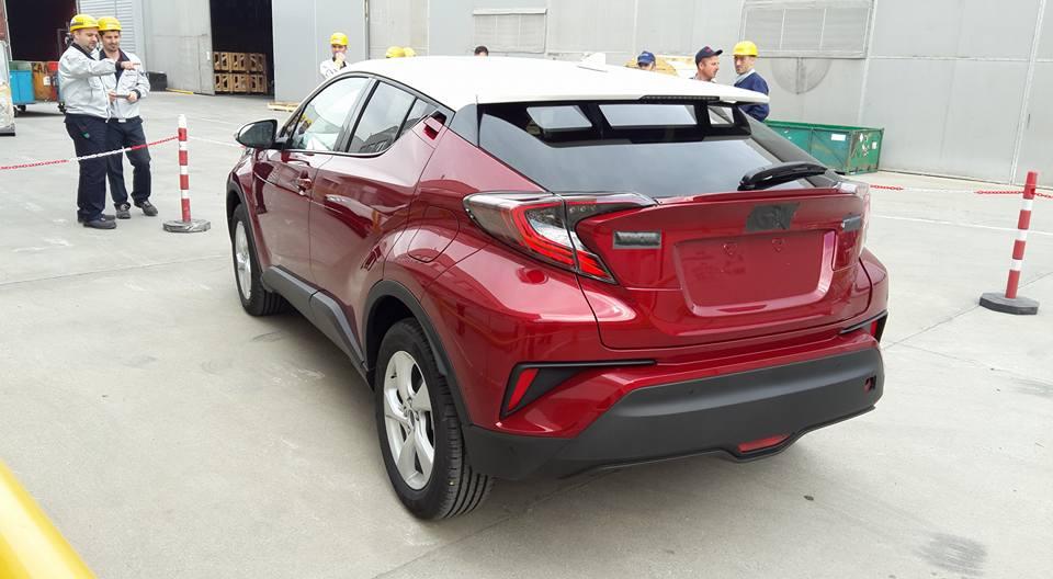 Photo of Toyota C-HR üretim bandından çıktı