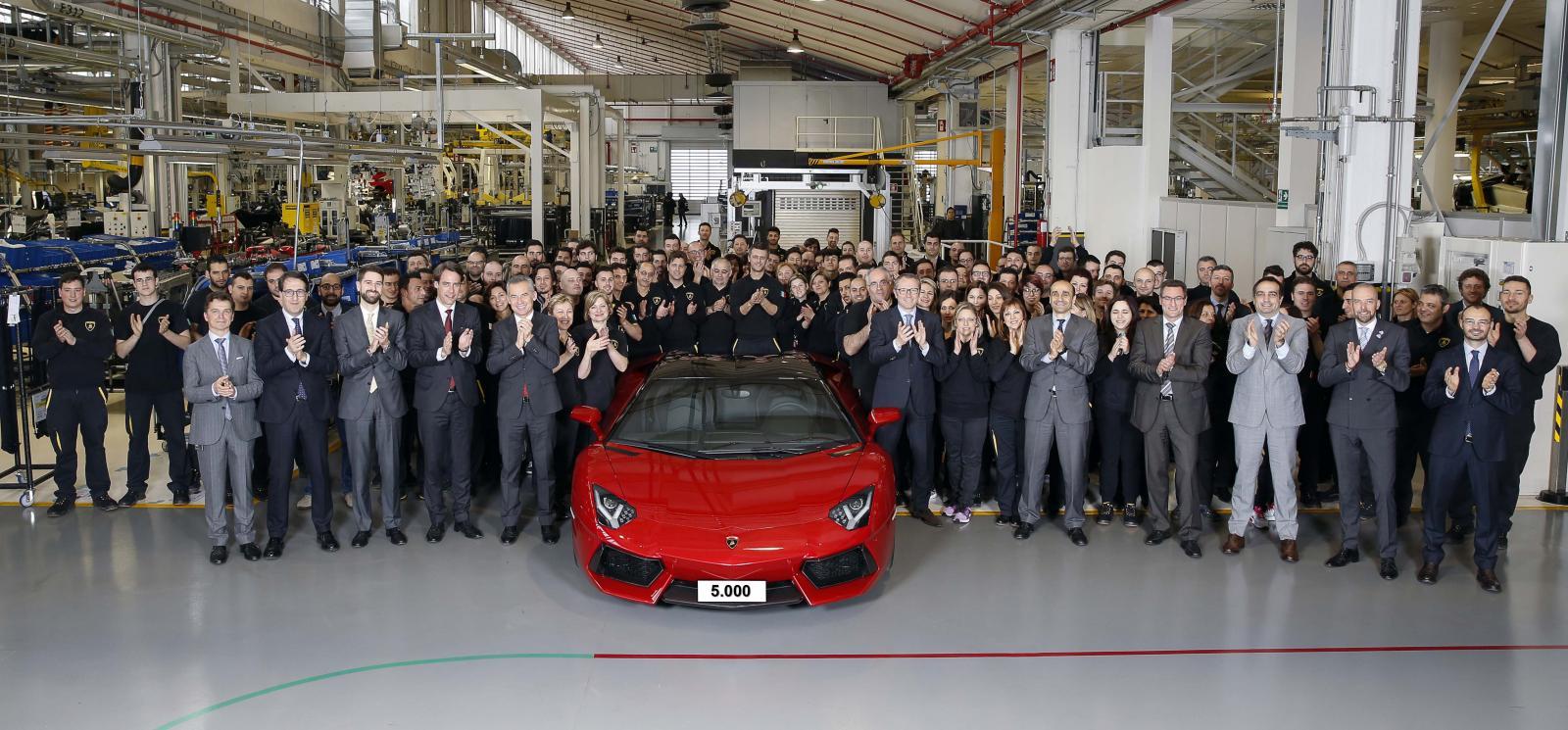 Photo of 5000'inci Aventador