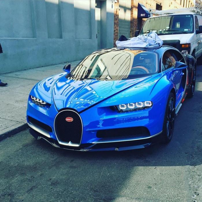 Photo of Bugatti Chiron New York sokaklarında!