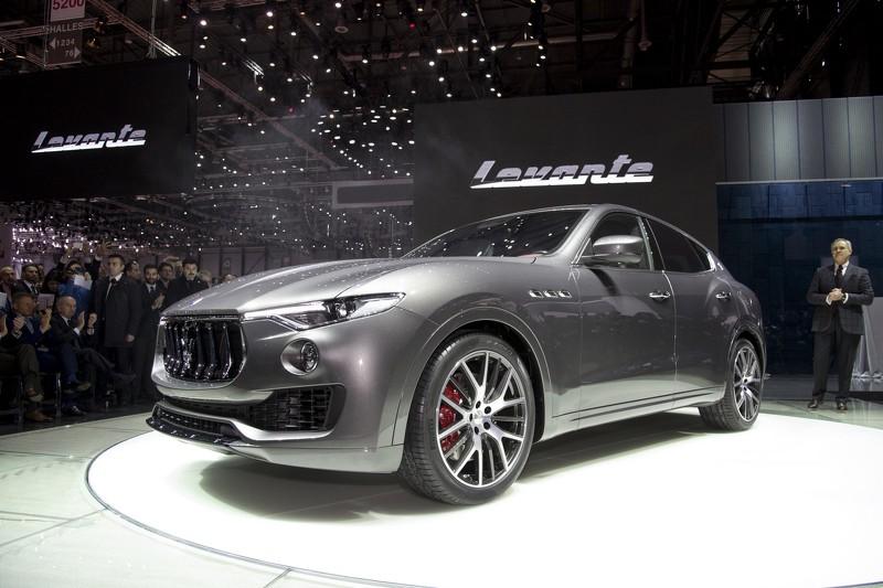 Photo of Maserati Levante Cenevre'de