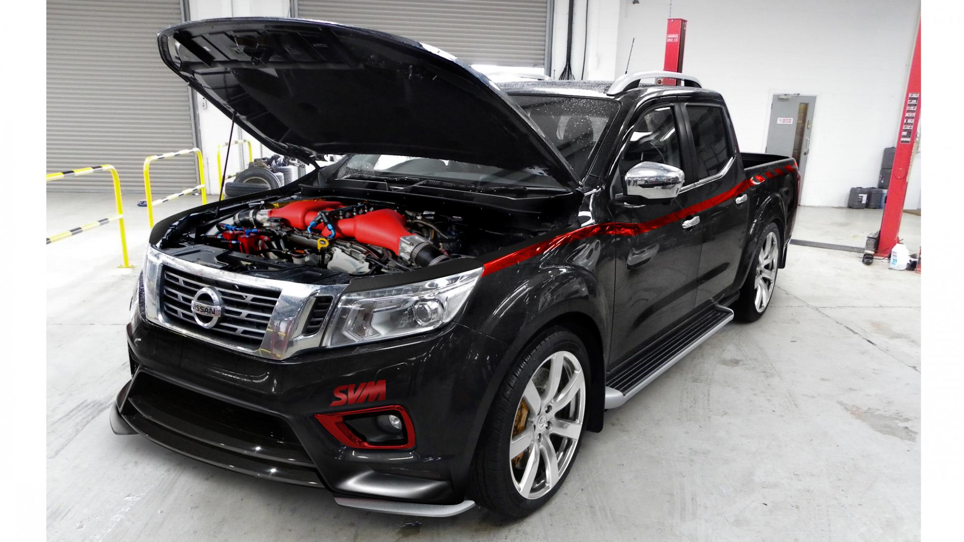 Photo of Nissan Navara'ya GT-R motoru takviyesi