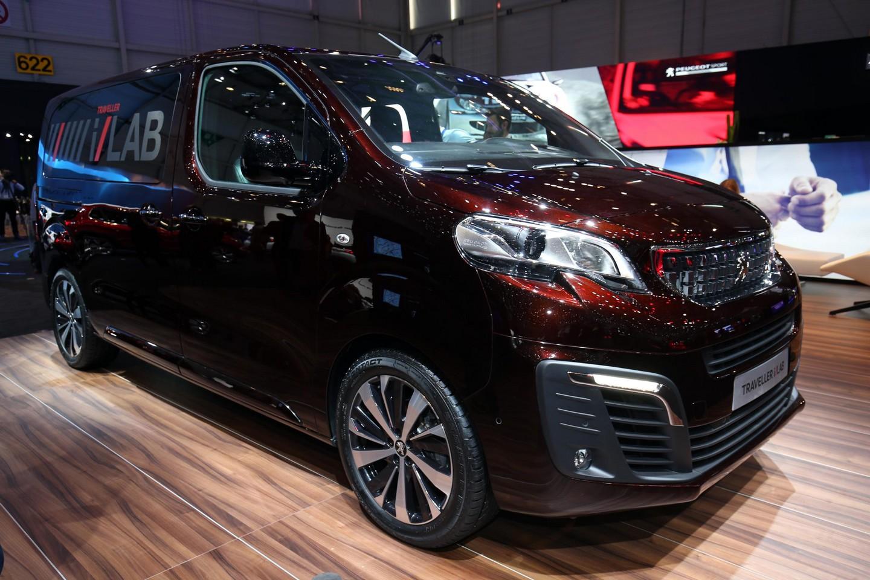 Photo of Peugeot Traveller, Cenevre'de