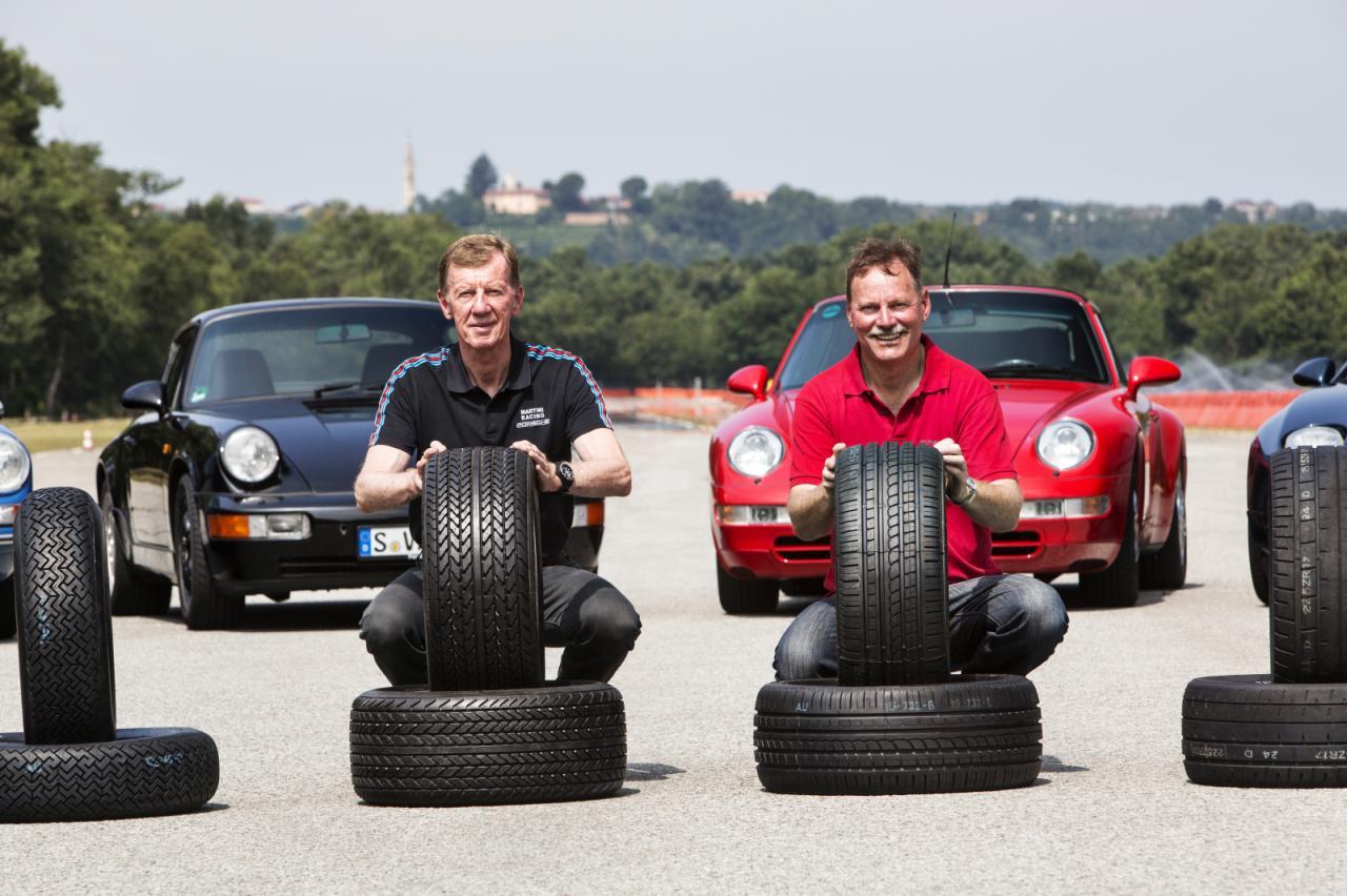 Photo of Porsche'den klasikler için lastik programı