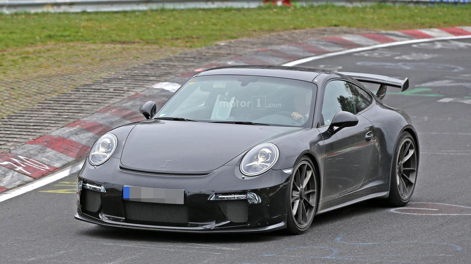 Photo of Makyajlı Porsche 911 GT3, Nürburgring'de yakalandı