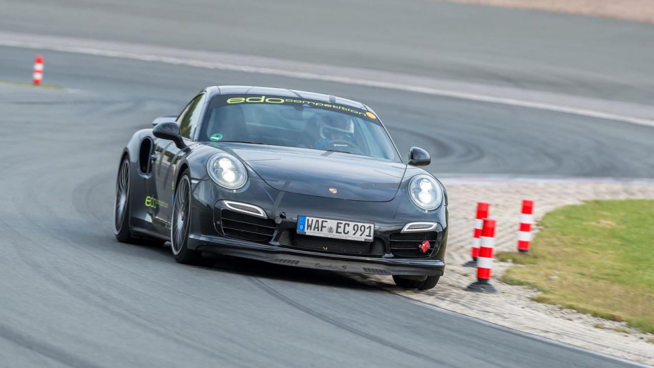 Photo of Sachsenring rekortmeni: 911 Turbo S
