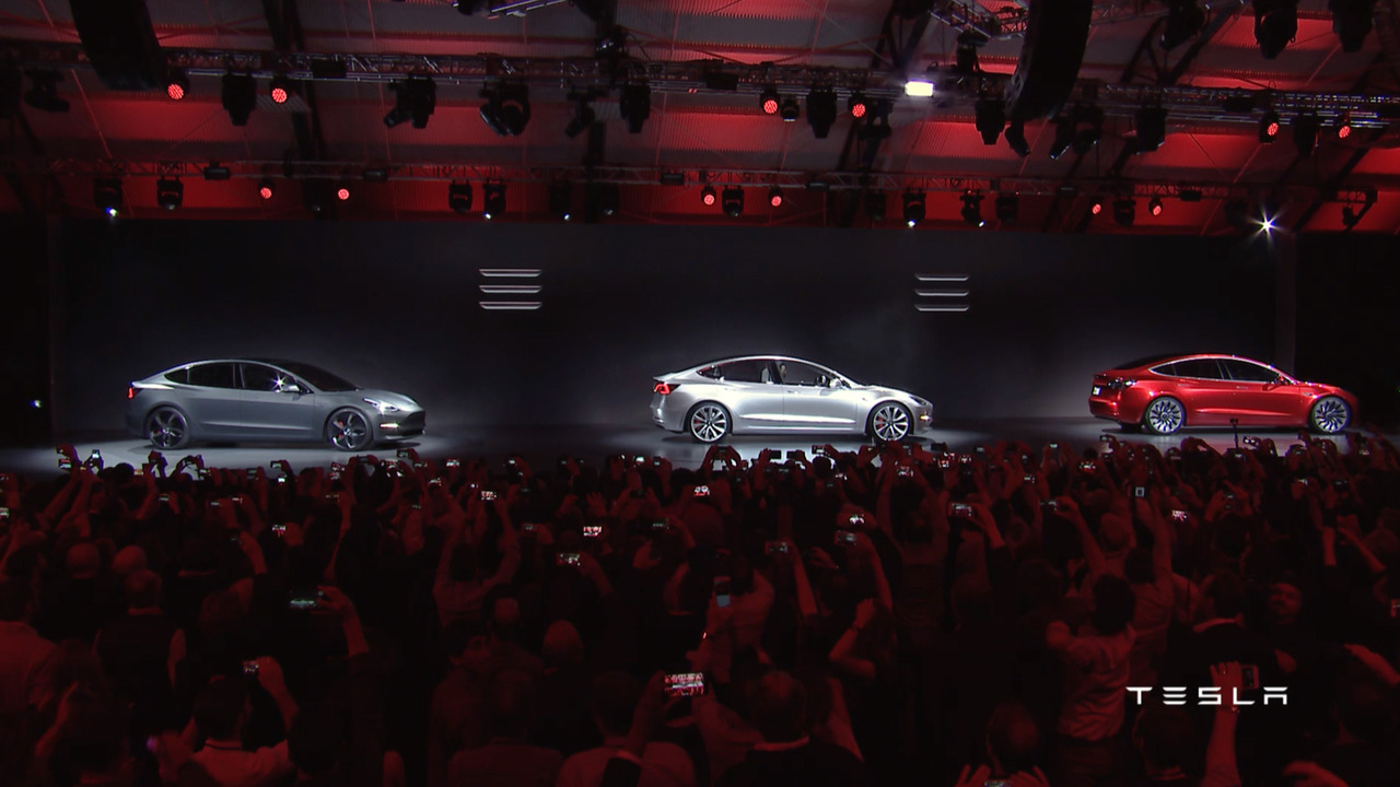 Photo of Ve karşınızda Tesla Model 3