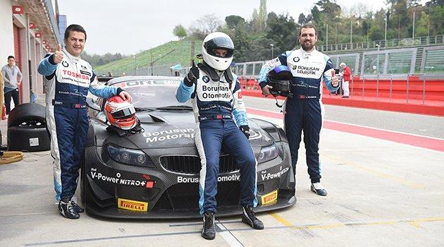 Photo of Borusan Motorsport İtalya'da podyumda