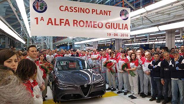 Photo of Alfa Giulia üretim bandından indirildi