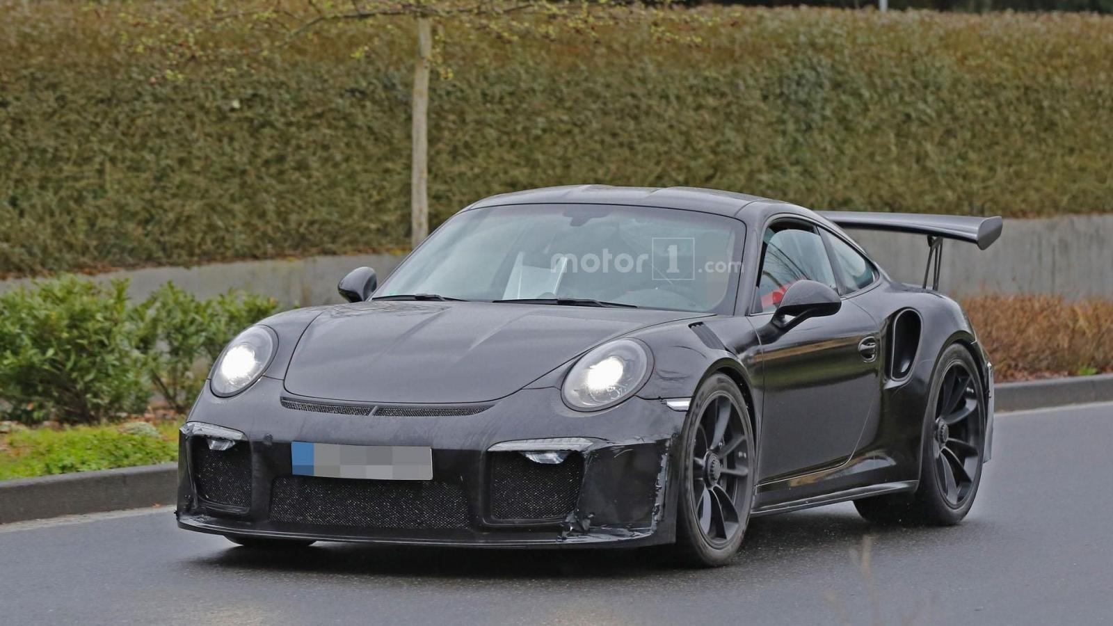 Photo of Porsche 911 GT3 RS 4.2 ilk kez görüntülendi