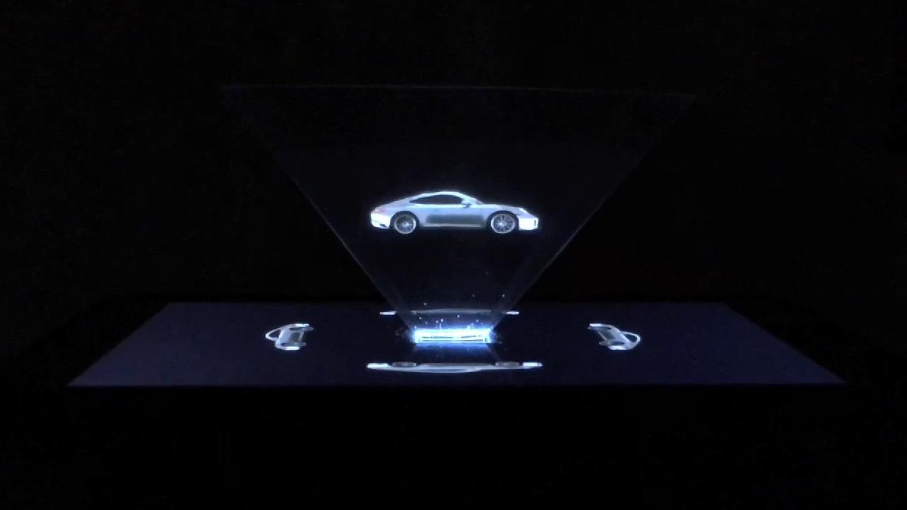Photo of Porsche'den yeni 911 için 'hologram'lı reklam