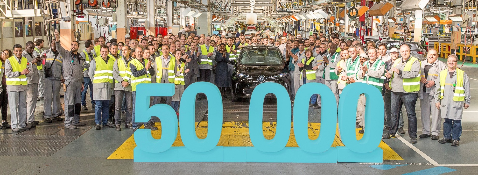 Photo of 50,000'inci Renault Zoe satıldı