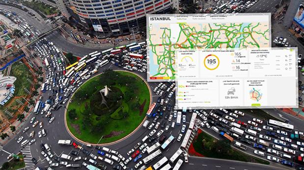 Photo of TomTom İstanbul için canlı trafik bilgisini ücretsiz sunuyor