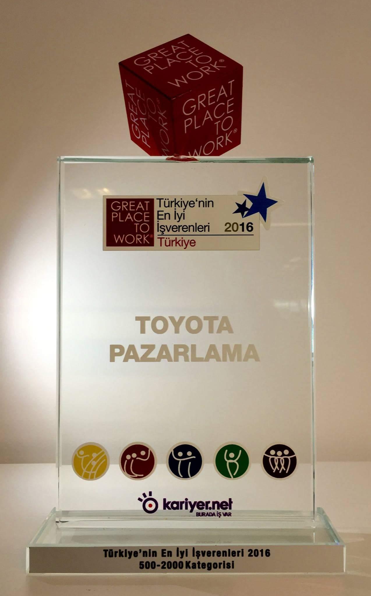 Photo of En iyi işveren Toyota