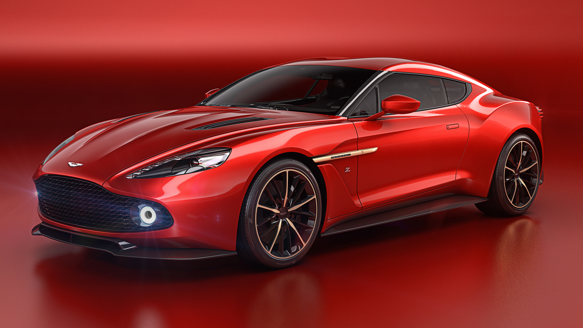 Photo of Aston Martin Vanquish Zagato konsepti