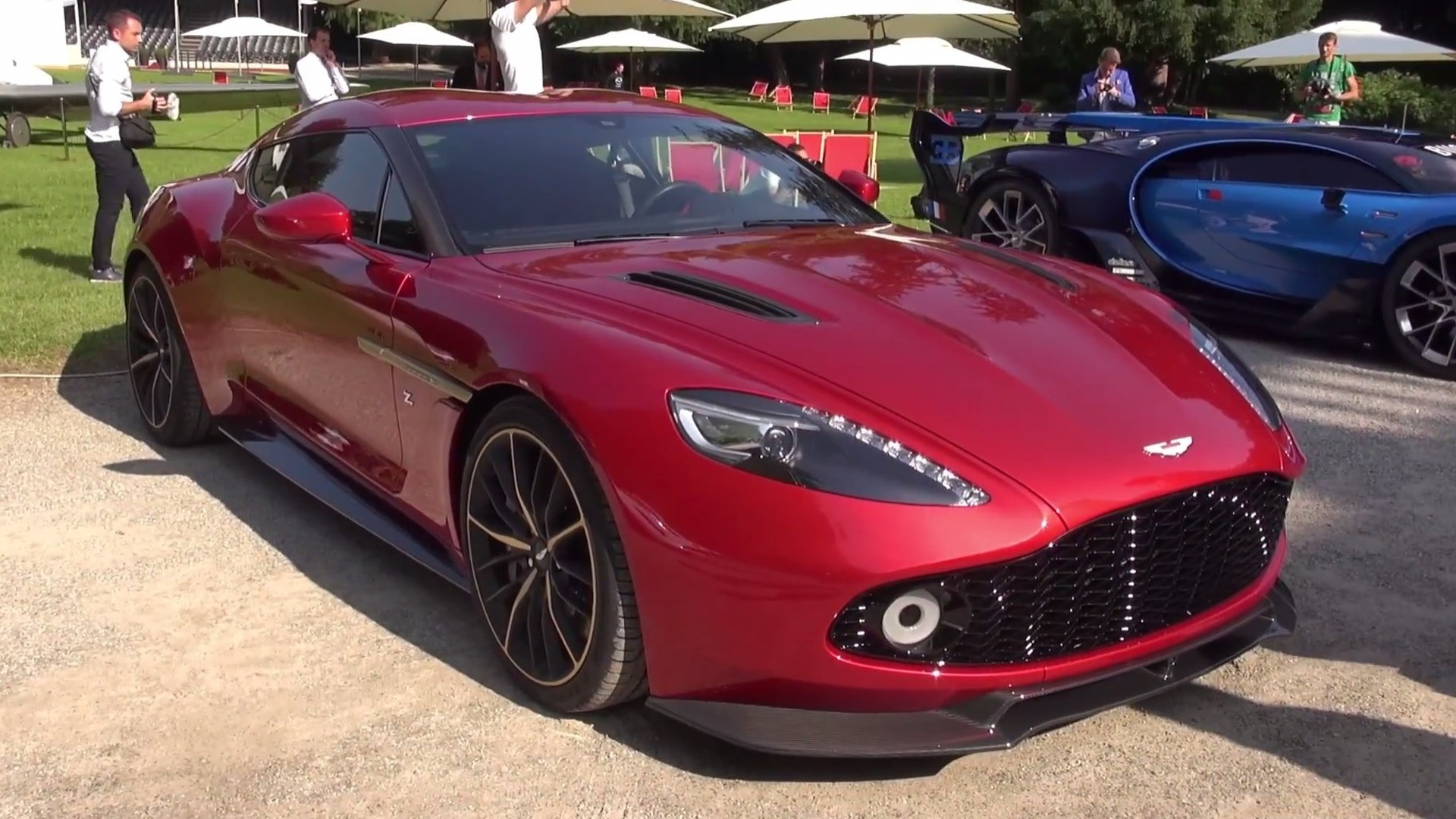 Photo of Aston Martin Vanquish Zagato artık daha güzel!