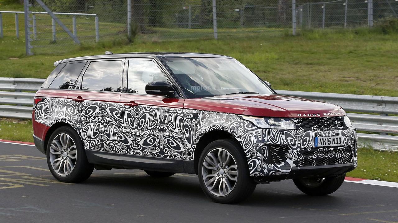 Photo of Range Rover Sport yenilenmiş yüzüyle yakalandı