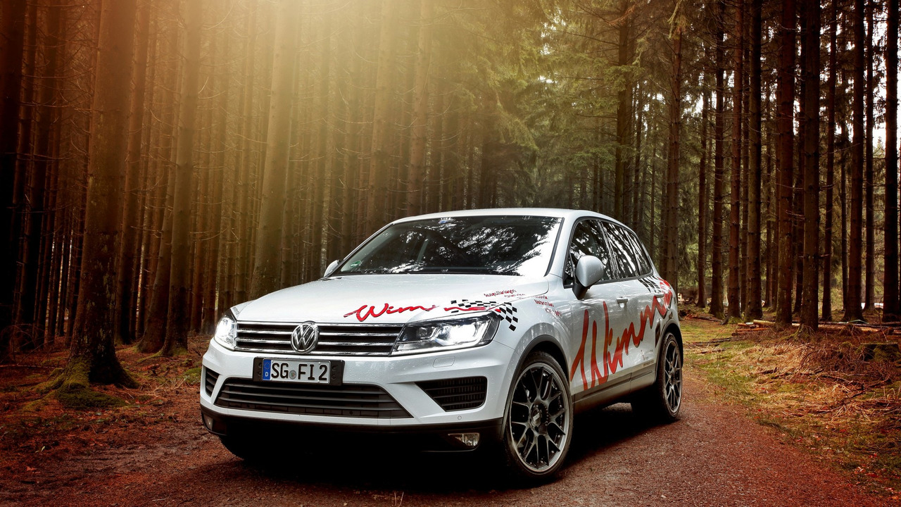 Photo of VW Touareg'e Wimmer dokunuşu