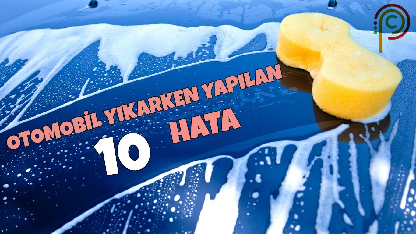 Photo of Otomobil Yıkarken Yapılan 10 Hata