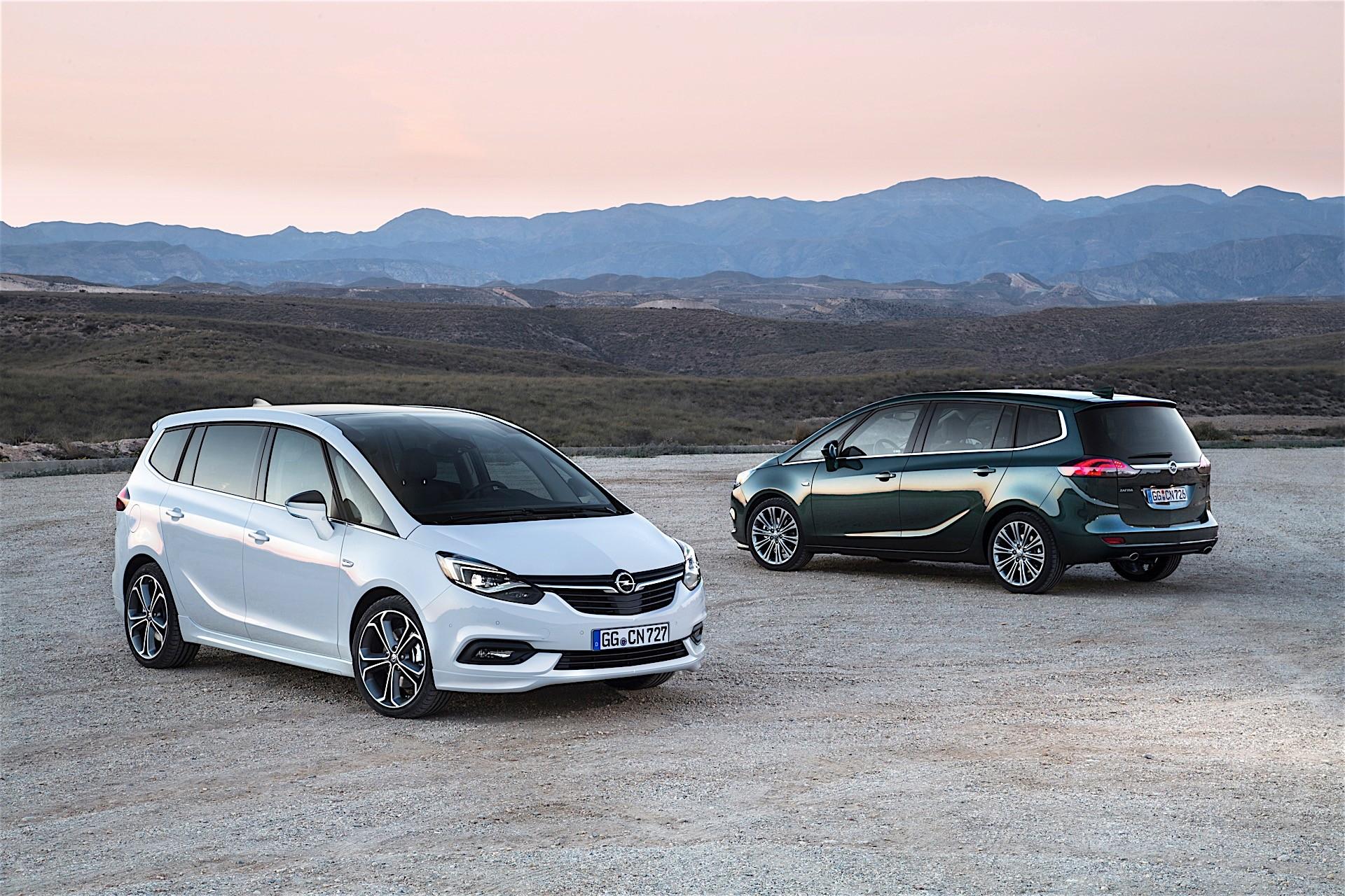Photo of Opel Zafira yenileniyor