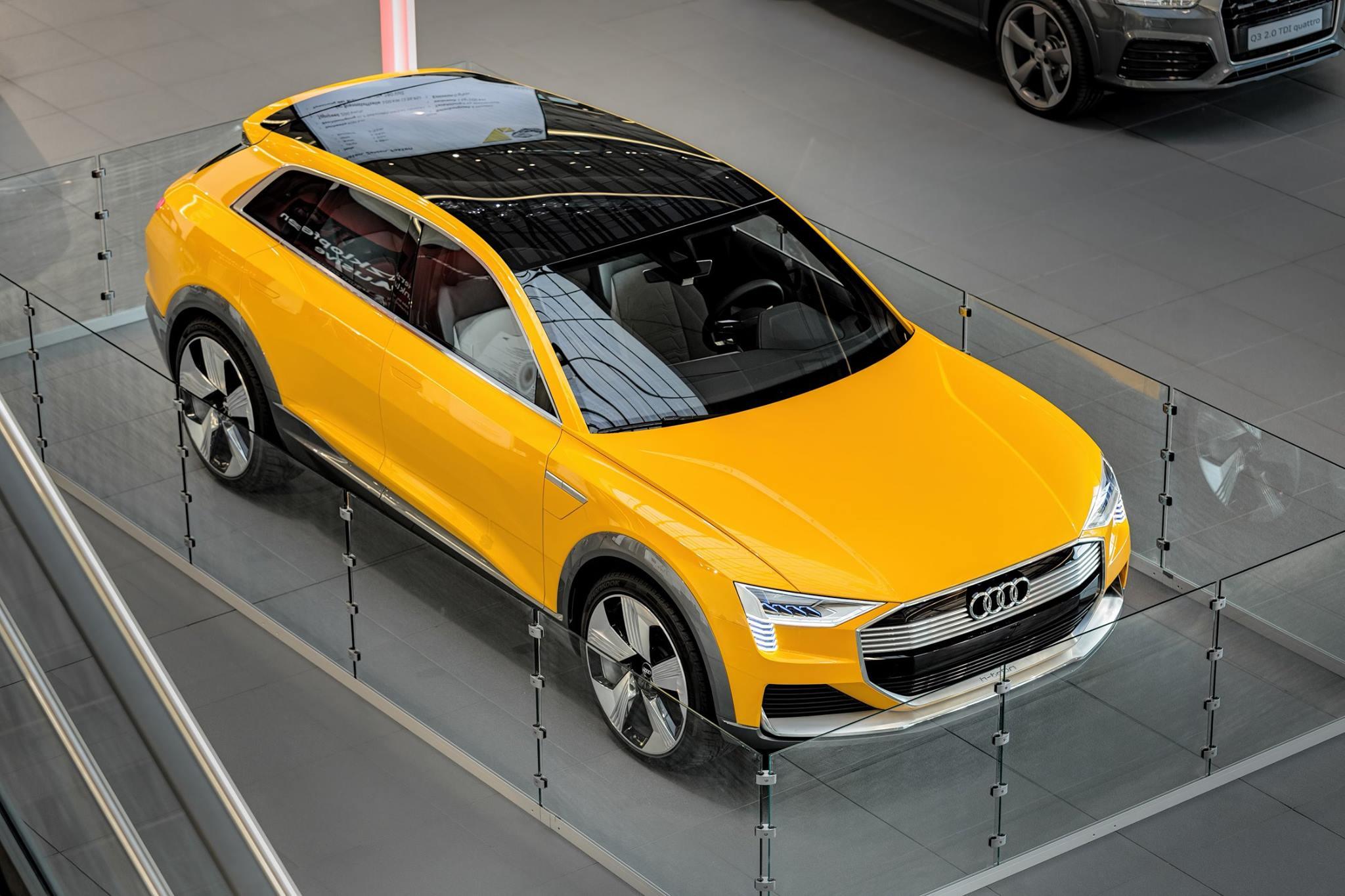Photo of Audi'nin hidrojen yakıtlı konsepti