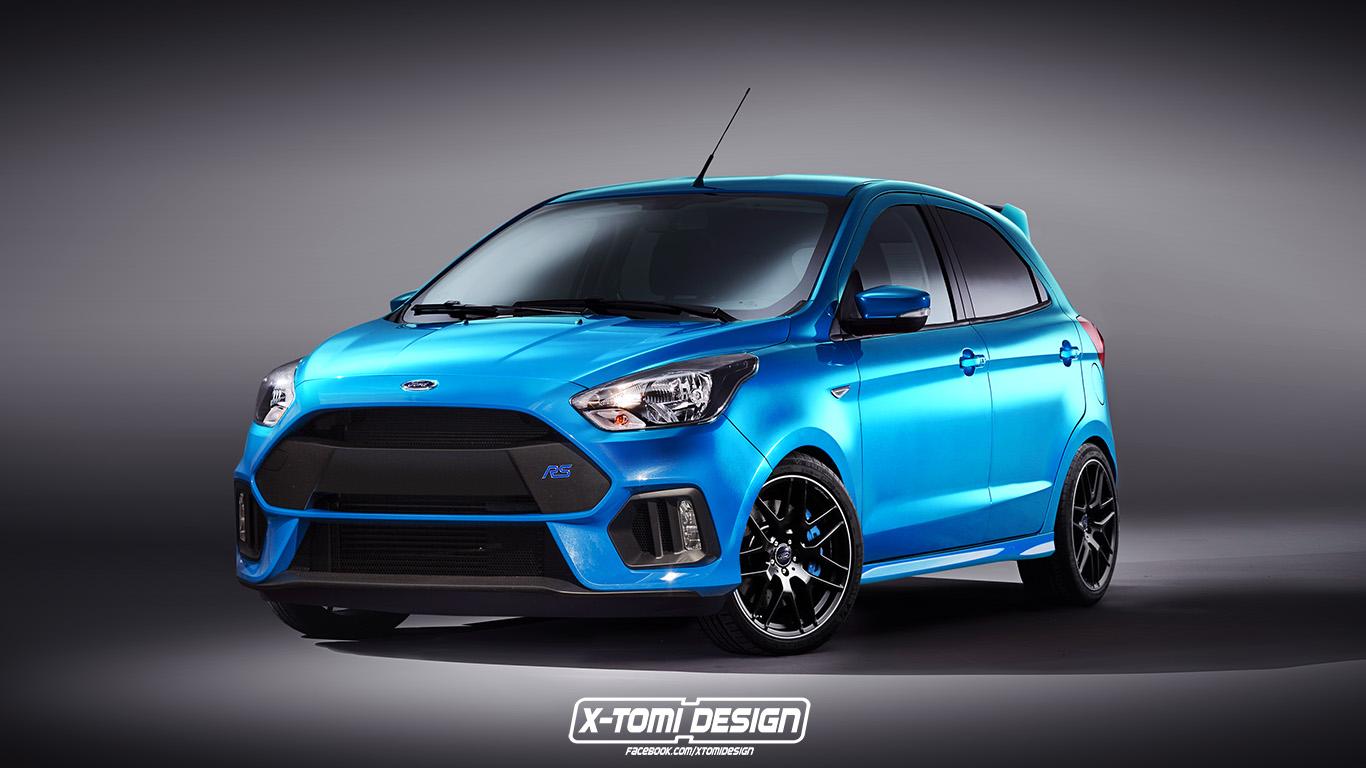 Photo of Ford Ka+ hot hatch kokuyor