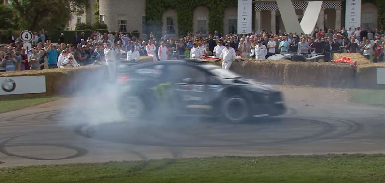 Photo of Ken Block bu sefer Goodwood festivalinde!