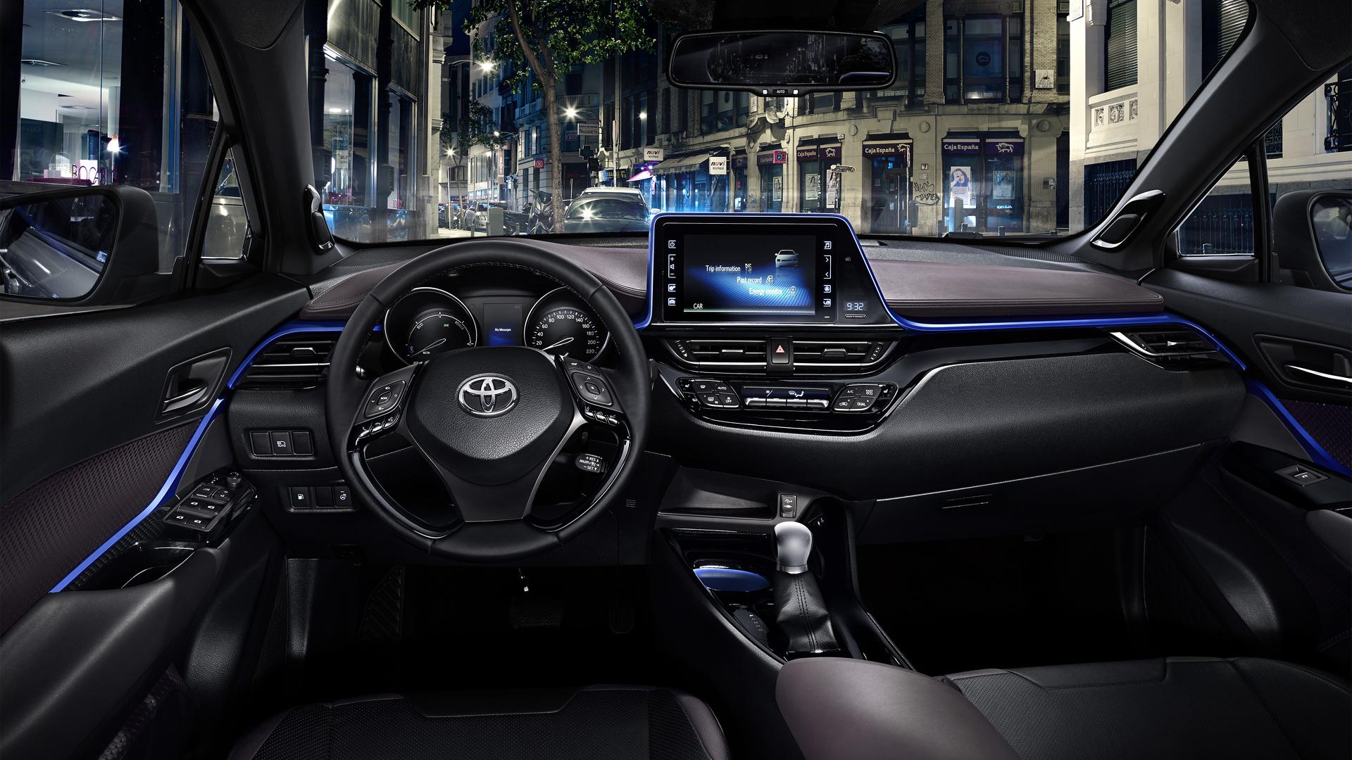 Photo of İşte Toyota CH-R'ın iç mekanı
