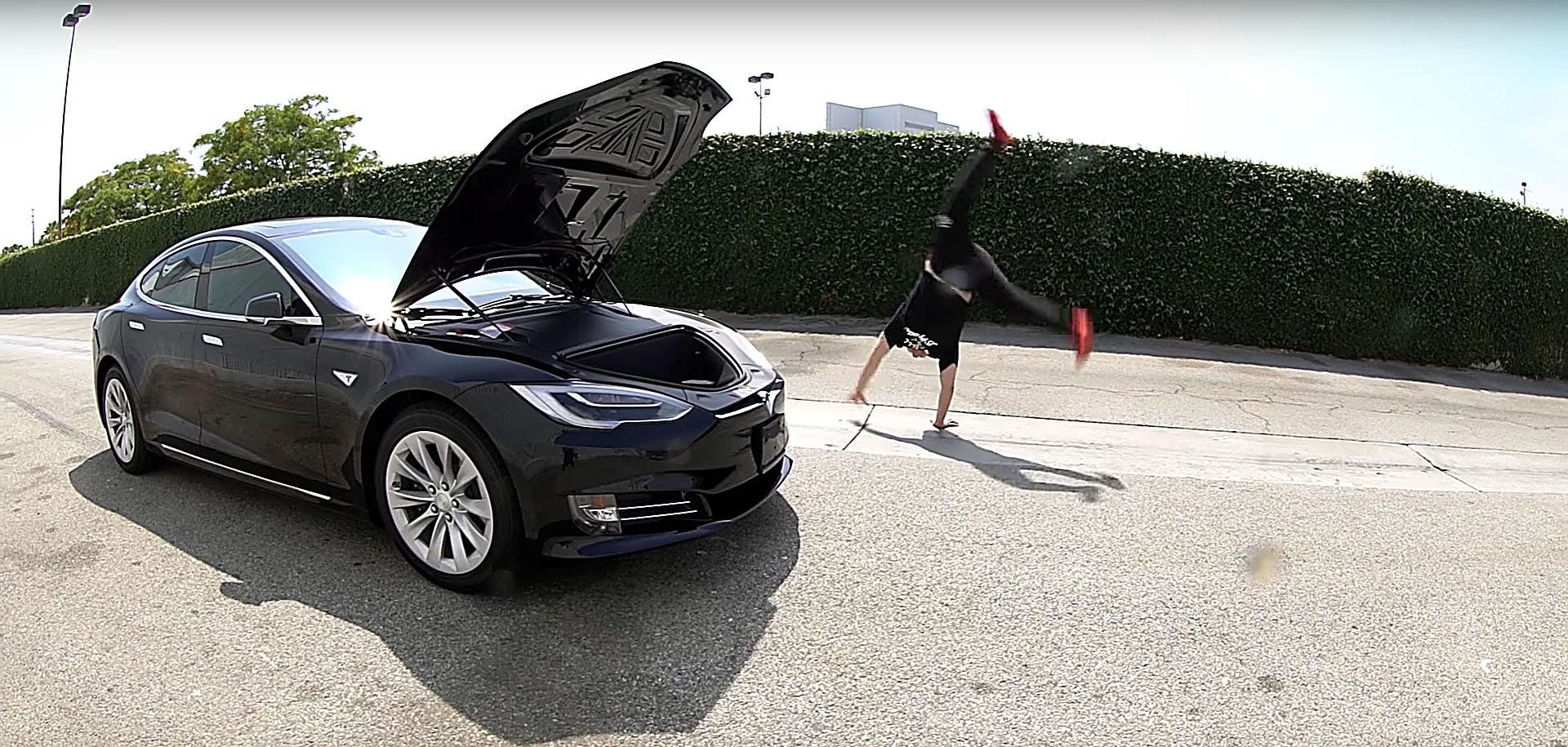 Photo of Tesla Model S'in 'Getto Testi'