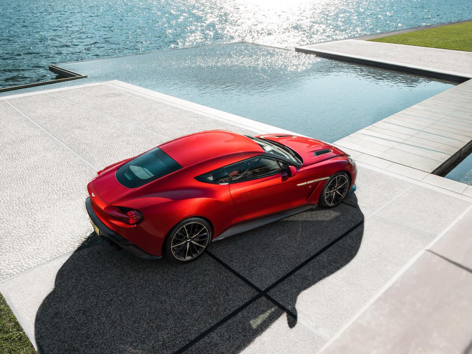 Photo of 2017 Aston Martin Vanquish Zagato üretime geçecek